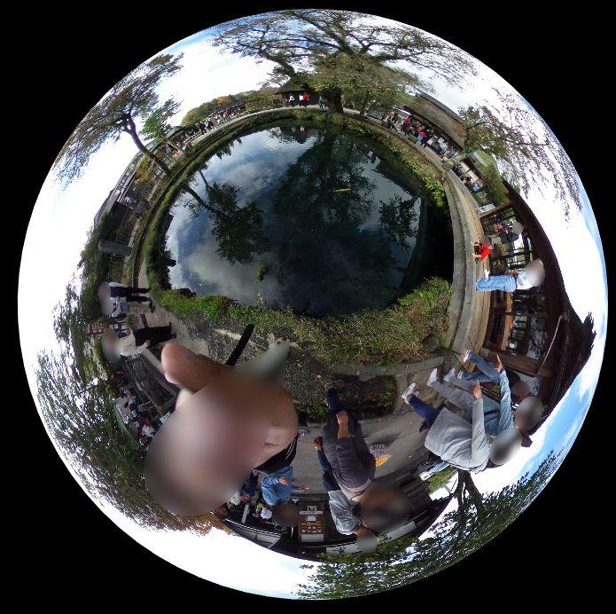 忍野八海-360度写真