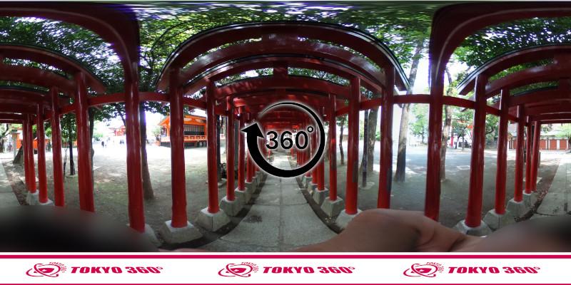 花園神社-360度写真-07