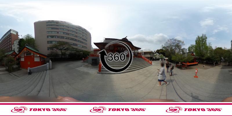 花園神社-360度写真-09