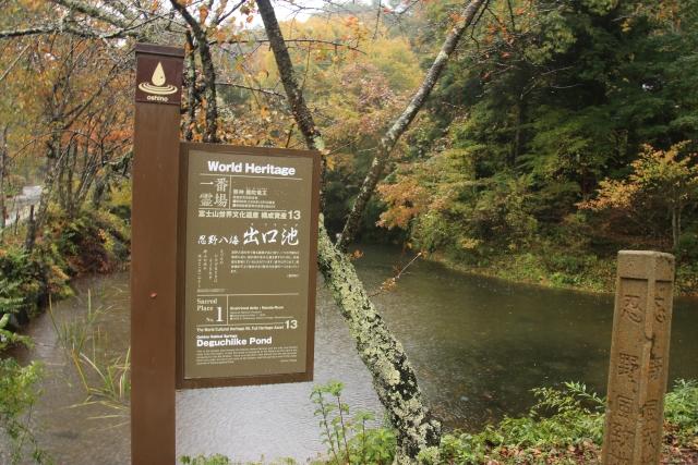 忍野八海-出口池