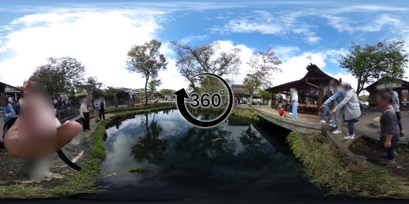 忍野八海-湧池-360度写真