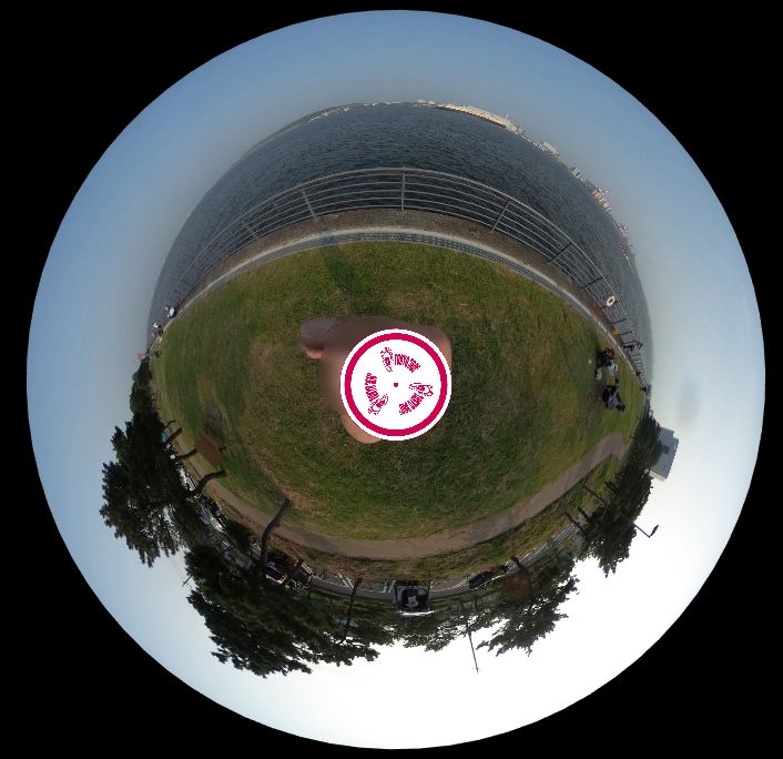 暁ふ頭公園-360度写真