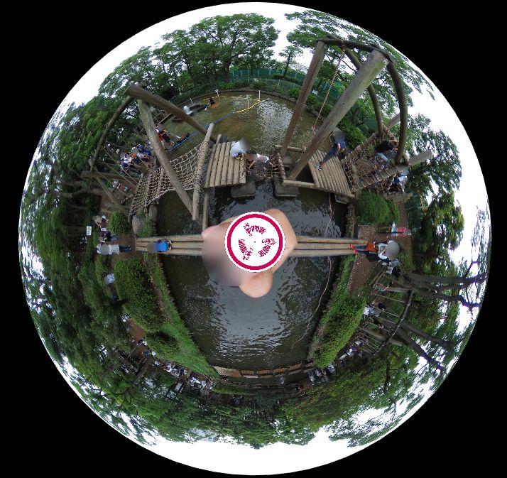 平和の森公園フィールドアスレチック-360度写真