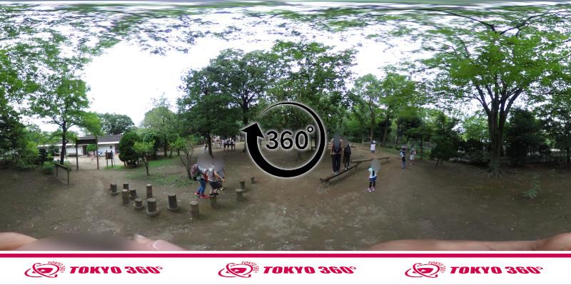 平和の森公園-フィールドアスレチック-360度写真-05