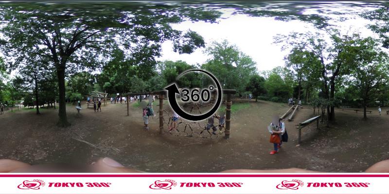 平和の森公園-フィールドアスレチック-360度写真-06