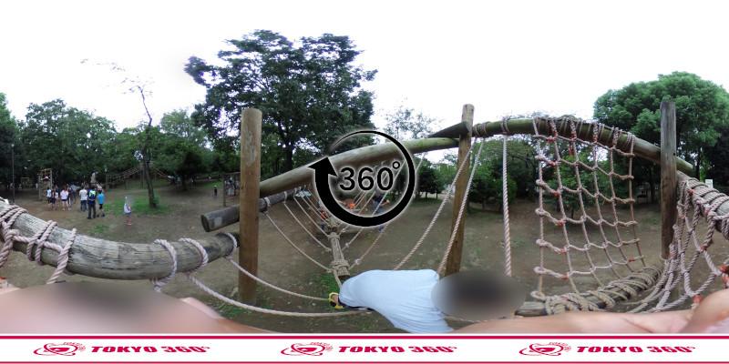 平和の森公園-フィールドアスレチック-360度写真-07