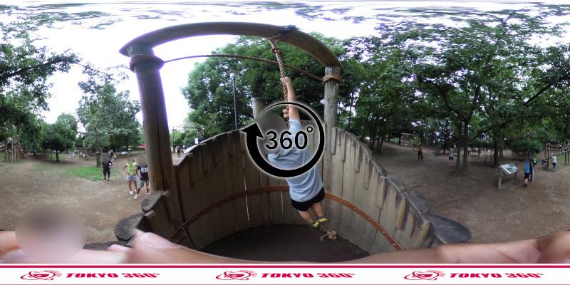 平和の森公園-フィールドアスレチック-360度写真-08
