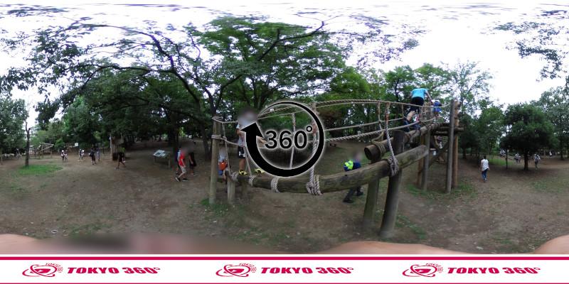 平和の森公園-フィールドアスレチック-360度写真-09