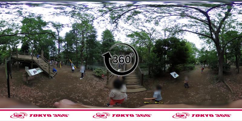 平和の森公園-フィールドアスレチック-360度写真-10