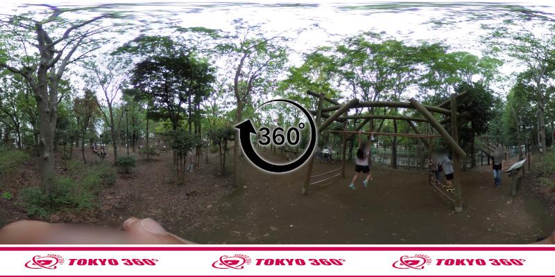 平和の森公園-フィールドアスレチック-360度写真-11