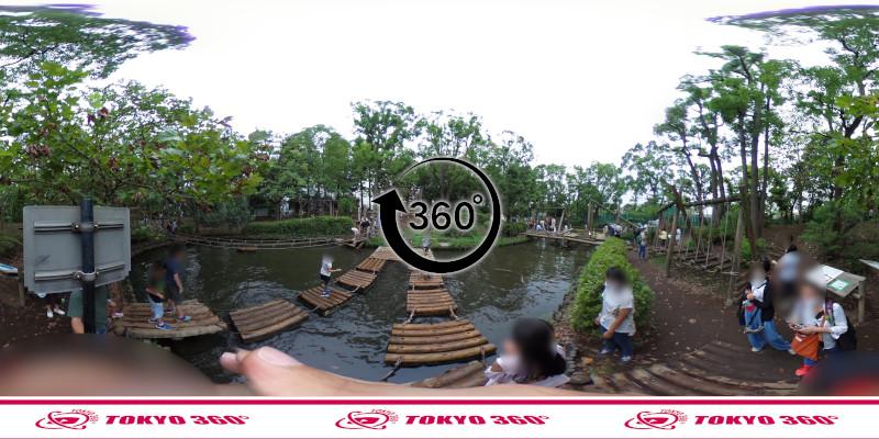 平和の森公園-フィールドアスレチック-360度写真-12