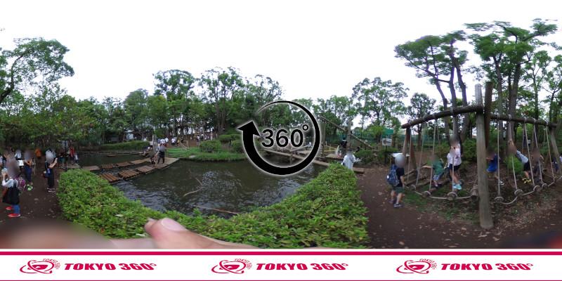 平和の森公園-フィールドアスレチック-360度写真-13