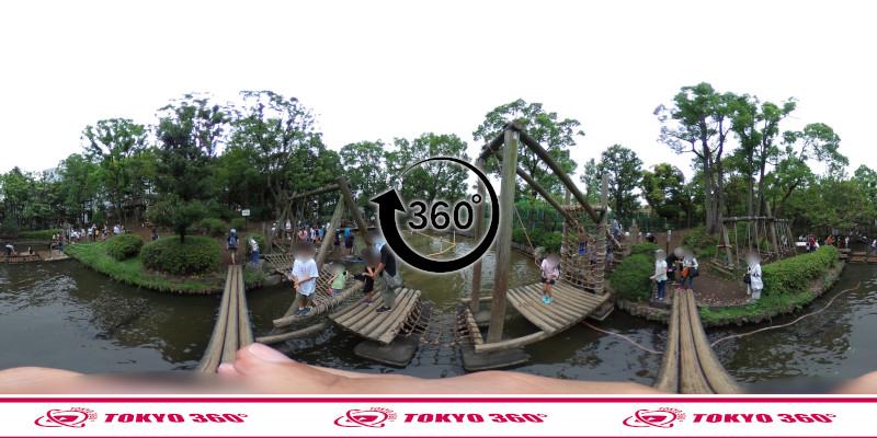 平和の森公園-フィールドアスレチック-360度写真-14