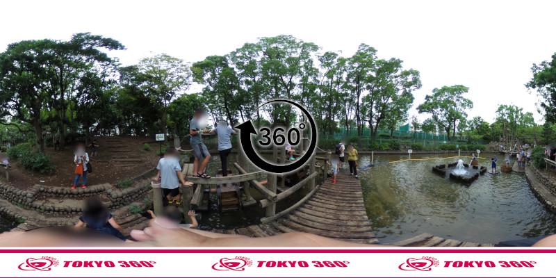 平和の森公園-フィールドアスレチック-360度写真-16