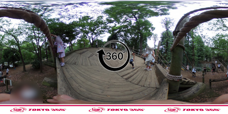 平和の森公園-フィールドアスレチック-360度写真-20