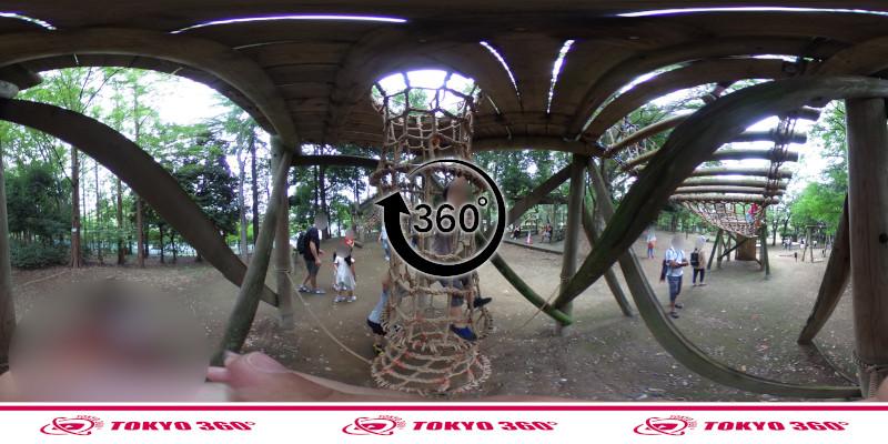 平和の森公園-フィールドアスレチック-360度写真-23