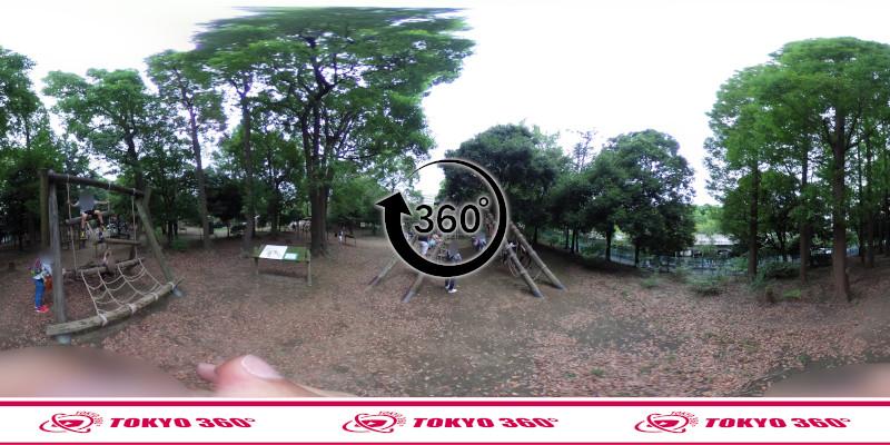 平和の森公園-フィールドアスレチック-360度写真-26