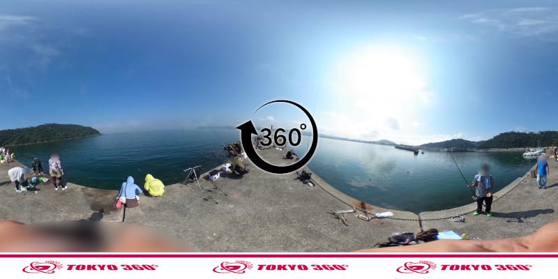 富浦新港-北ケイセン-360度写真-07