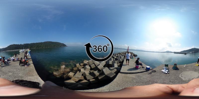 富浦新港-北ケイセン-360度写真-08