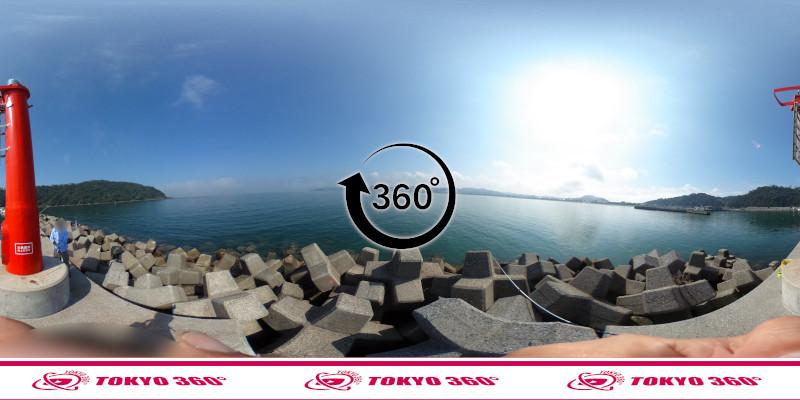 富浦新港-北ケイセン-360度写真-10