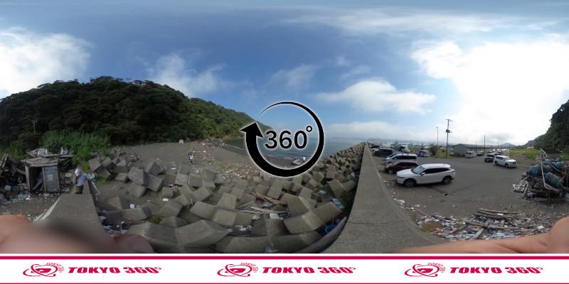 富浦新港-北ケイセン-360度写真-12