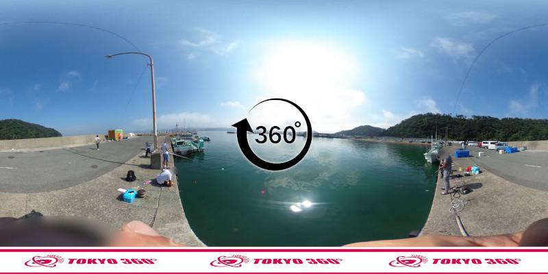 富浦新港-北ケイセン-360度写真-14