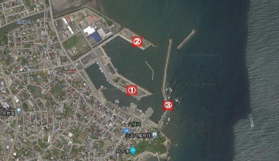 大原漁港-全体像