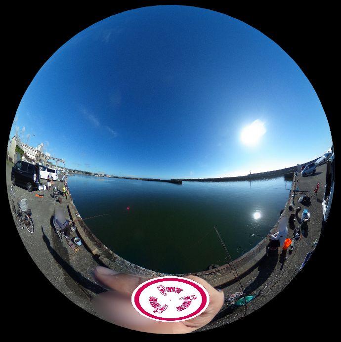 大原漁港-360度写真