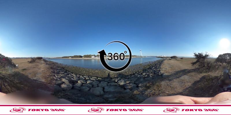 葛西臨海公園-釣り-360度写真-03