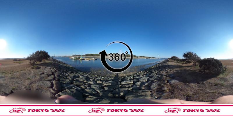 葛西臨海公園-釣り-360度写真-04