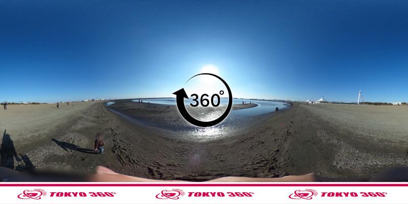 葛西臨海公園-釣り-360度写真-07