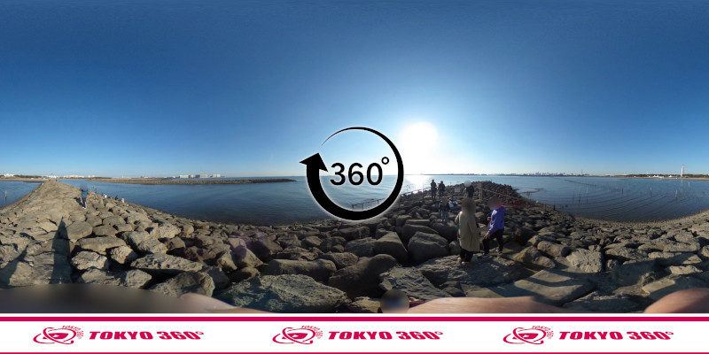 葛西臨海公園-釣り-360度写真-08