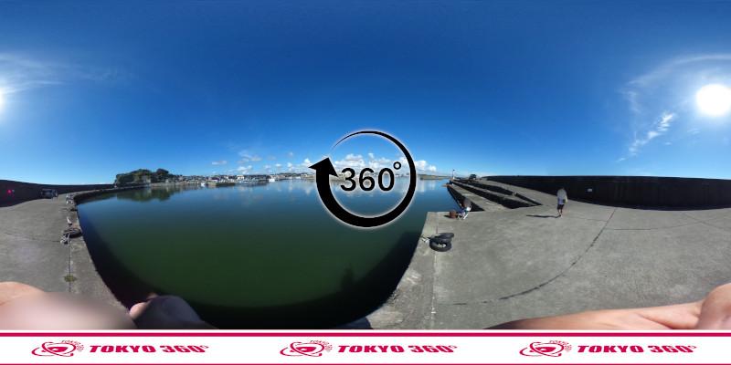 大原漁港-360度写真-09