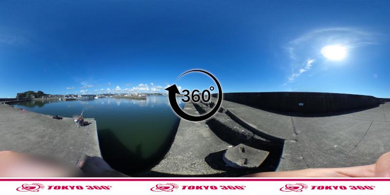 大原漁港-360度写真-10