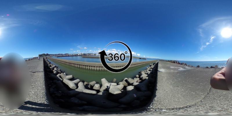 大原漁港-360度写真-13