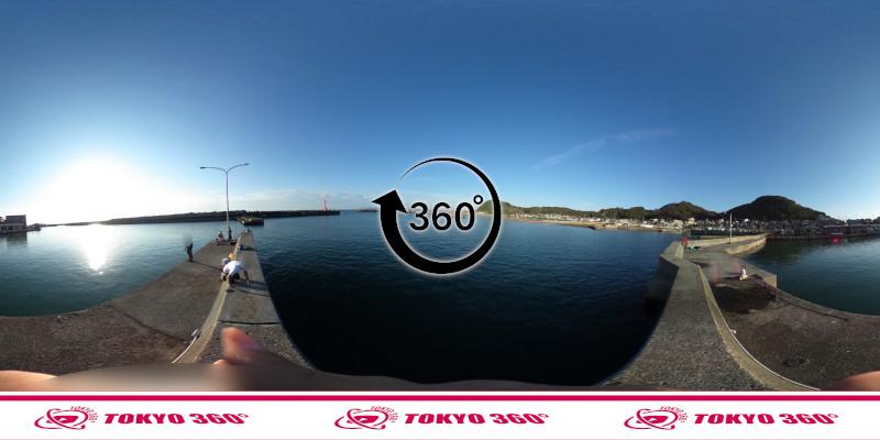 和田漁港-360度写真