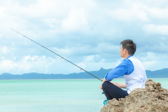 沖縄の釣り-イメージ写真