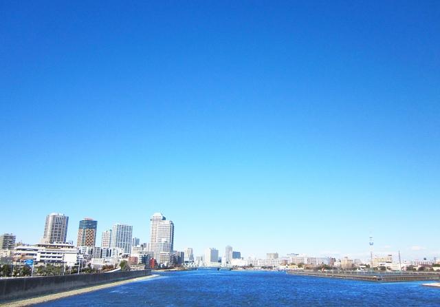 春海橋からの景色