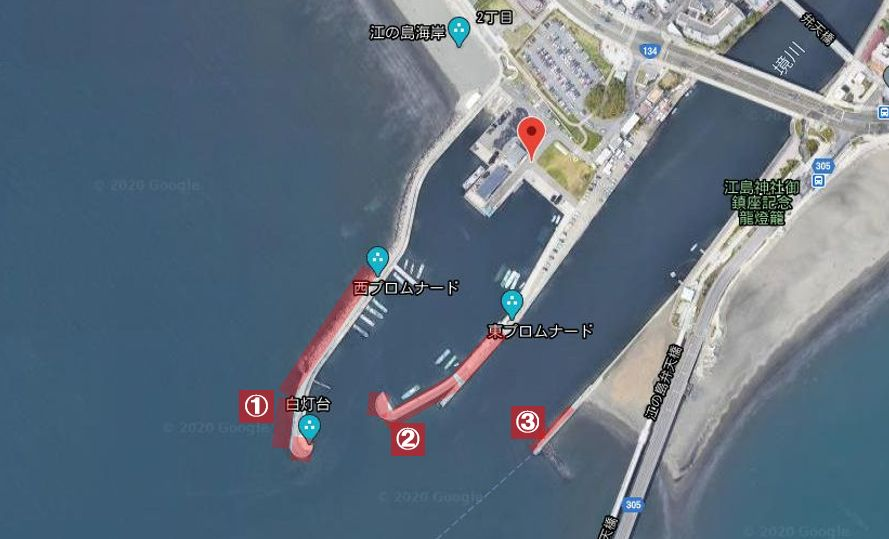 片瀬漁港-全体像