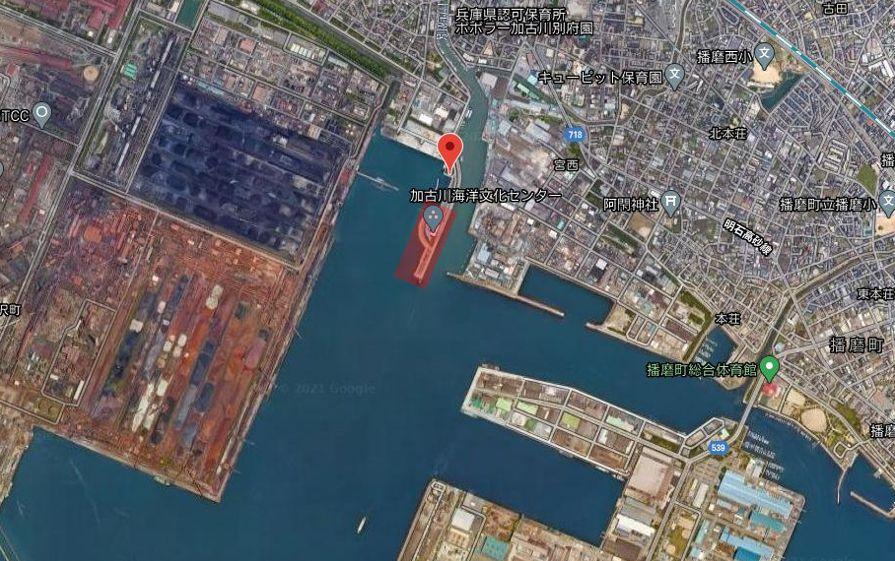 別府港の釣り場-全体像
