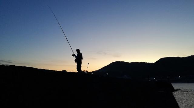 釣りのイメージ写真