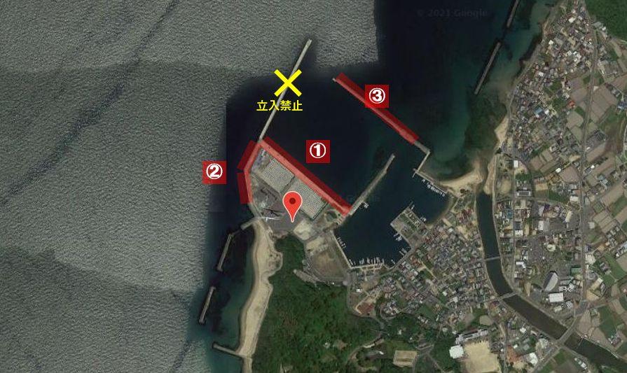 都志港-釣り場の全体像