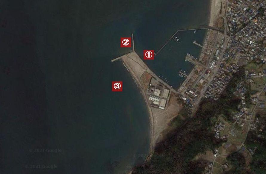 大貫港-釣り場の全体像