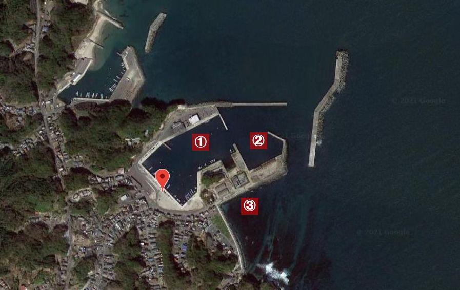 平潟港-釣り場の全体像