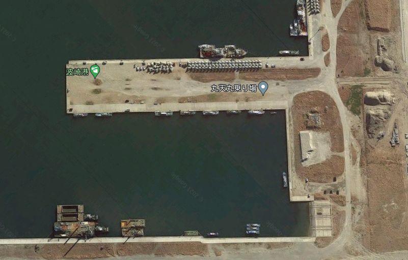 波崎新港-港内の突堤
