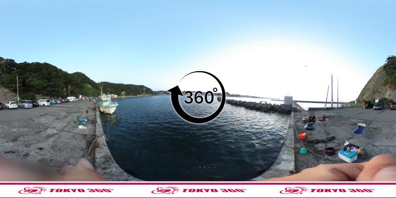 興津港-テトラの防波堤