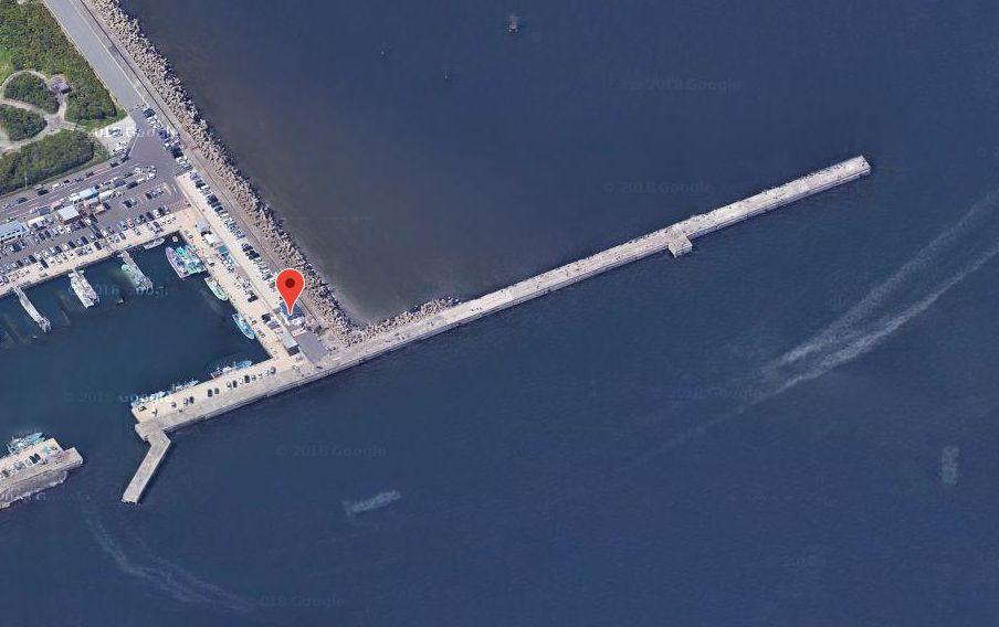 鹿島港魚釣園-釣り場の全体像