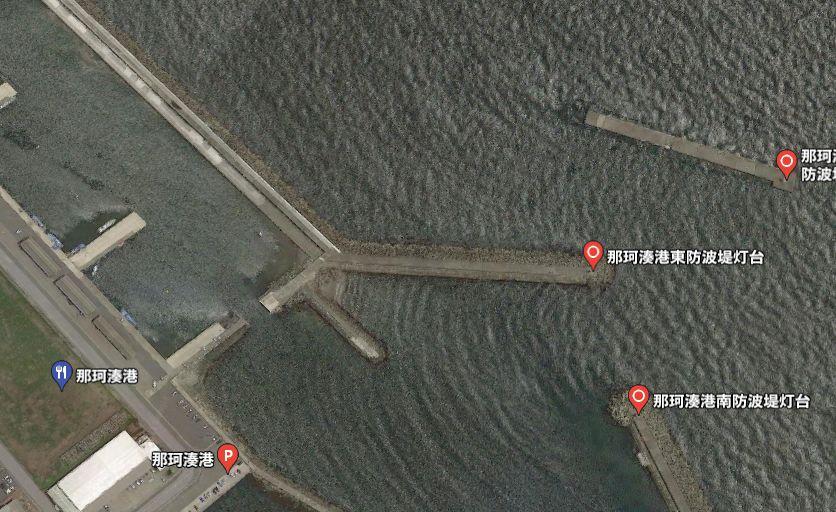 那珂湊港-赤灯堤防(新堤防)