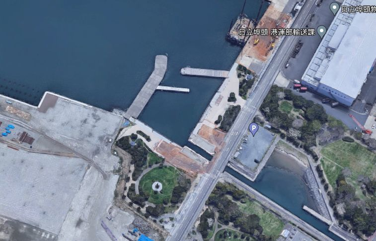 日立港-第3埠頭のなぎさ公園