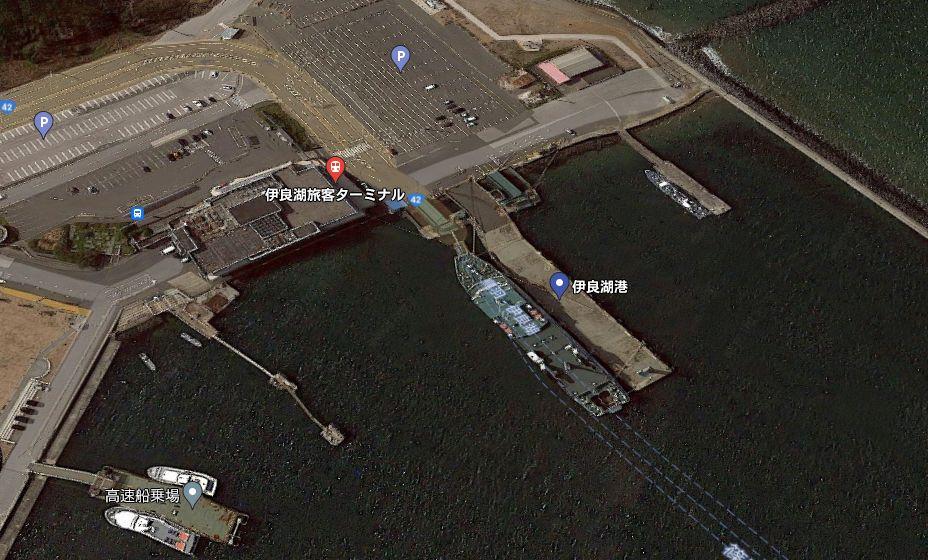 伊良湖港-フェリー乗り場